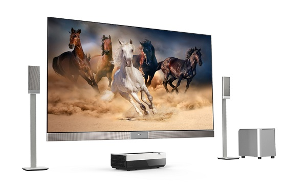 CES 2017:海信在美推出100英寸激光电视及夏普商标新品