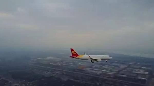 无人机竟敢飞到民航客机附近?