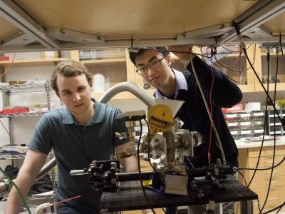 本科生研究出来的新技术:真空热力悬浮