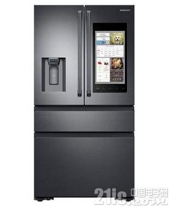 三星这款冰箱可以自动购物