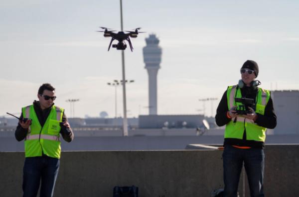 无人机和机场水火不相容吗?也不一定
