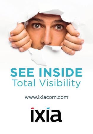 Ixia将在2017 RSA 大会上展示最新解决方案助力企业实现全面可视性
