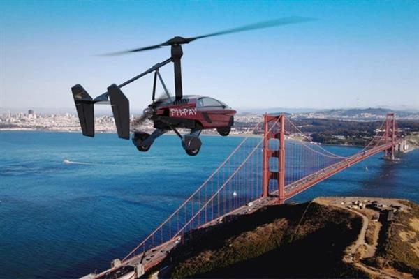 全球首款飞行汽车开放预订:最高航速180千米/小时