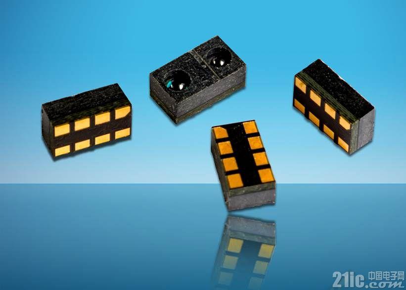 反射光学传感器提供强大的可靠性和多功能性及市场领先的环境光免疫能力