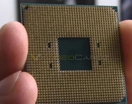 中国制造!这就是AMD Ryzen处理器玉照