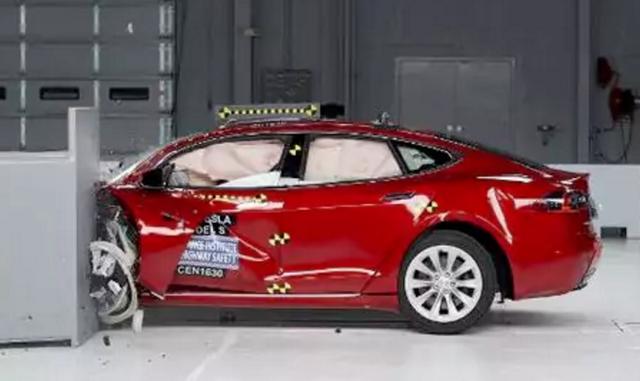 IHS碰撞测试:特斯拉没有拿到最高评级,最安全的汽车是它