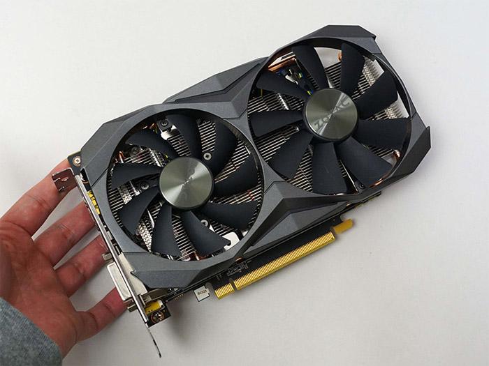 索泰GTX 1080 Mini显卡上市,散热器有点夸张