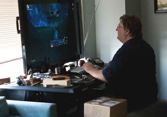 Gabe Newell:VR很重要,但即使失败我们也可以接受
