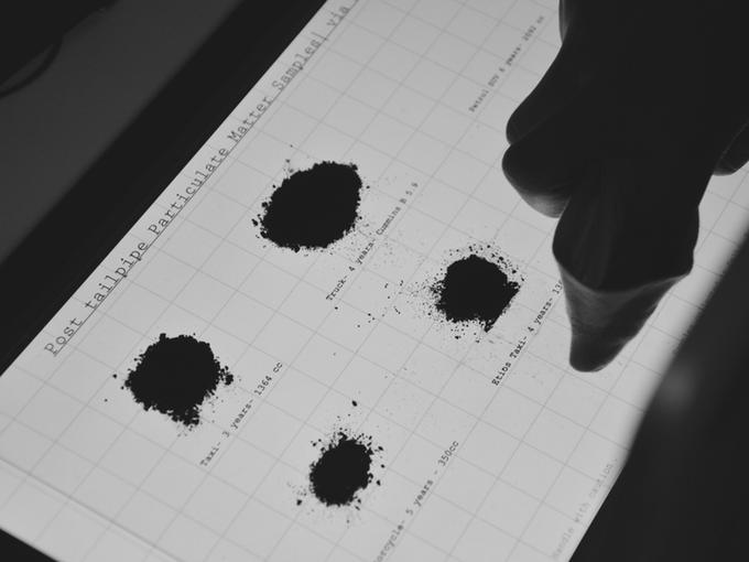 MIT 媒体实验室成员研发环保墨水,可以治理雾霾?