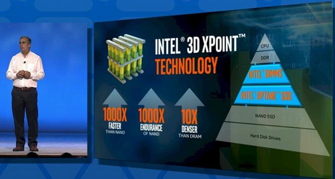 Intel 3D XPoint闪存终于揭秘了:20nm制程工艺