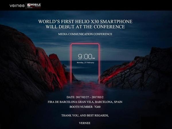 Helio X30本月发布 联发科首款10nm制程的芯片 8G内存