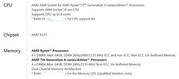 AMD Ryzen补足短板:支持高频DDR4/ECC、N卡SLI!