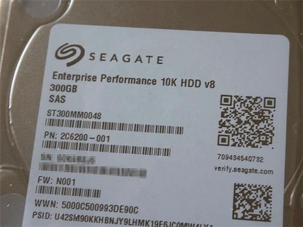 希捷全新企业级2.5寸硬盘发售 12Gbps/10000转