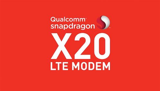 高通和英特尔发布千兆LTE芯片 理论下载速度实现1Gbps