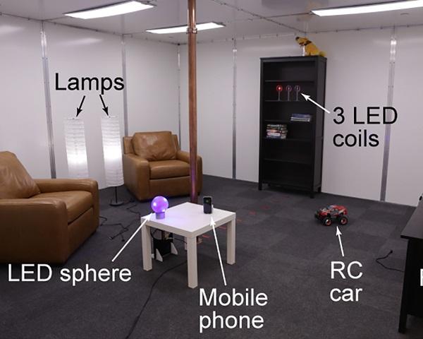 无线充电!迪士尼研究院展示纯无线供电房间