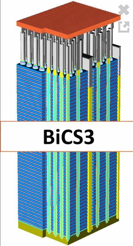 TB级SSD白菜价!首款64层512GB TLC闪存芯片开产