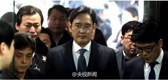 韩国决定批捕三星掌门李在�F!