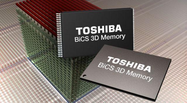 机械盘没优势?东芝出货64层堆叠闪存:普及TB级SSD