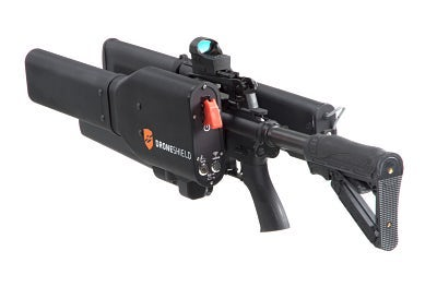 IS恐怖组织用无人机投放炸弹!中东部署反无人机枪Dronegun
