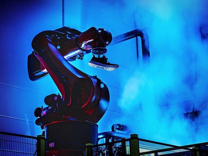 """""""美国机器人制造""""?这很可能是你脚上球鞋的未来"""