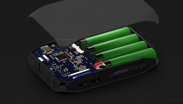 功能太强大:Omini20移动电源可逆变可快充