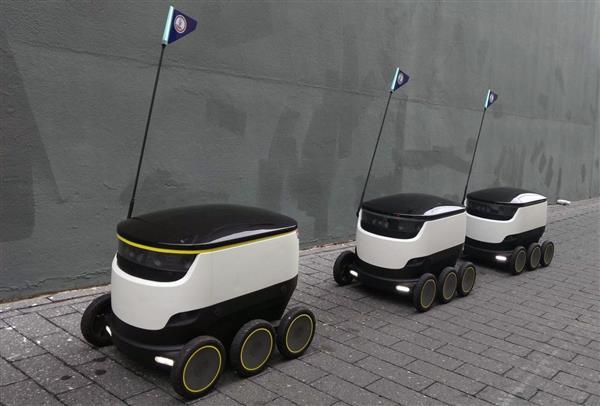 机器人送餐已在美国测试 不久将成现实