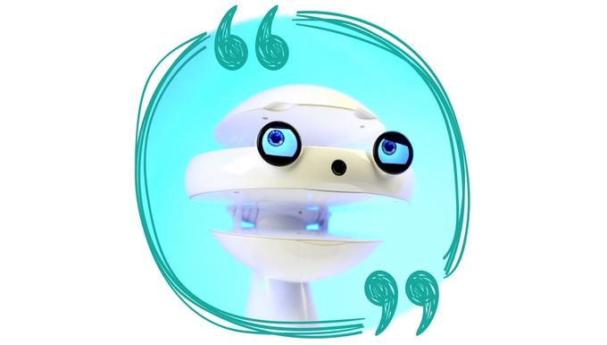 Emys:一个教孩子们学习外语的机器人