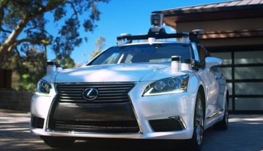 丰田首款自动驾驶汽车发布:满身传感器