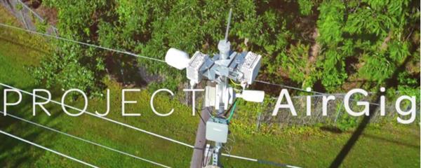 用电线来传网络信号的黑科技?AirGig究竟是什么