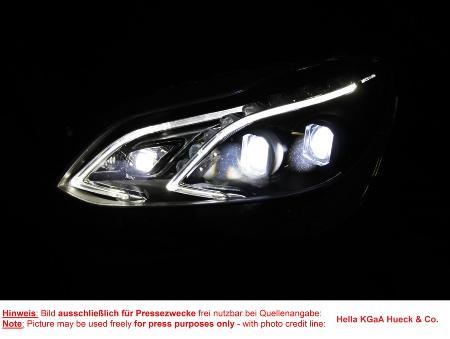 全新汽车照明技术引领道路安全变革