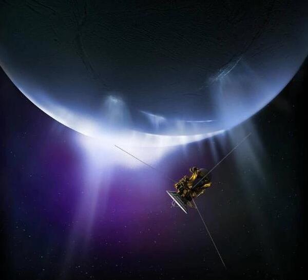 NASA最新发现:土星的卫星可能存在生命