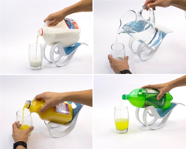 超实用!老外发明倒大瓶可乐雪碧神器:这创意绝了!