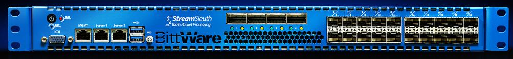 直击100GbE险境!基于FPGA硬件加速的BittWare StreamSleuth对抗100Gbps