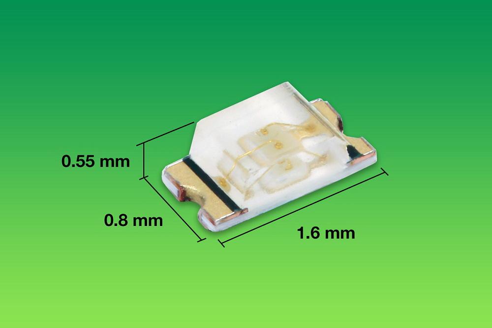 Vishay推出采用ChipLED封装的小尺寸SMD LED