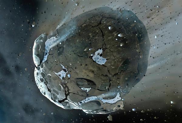 5颗小行星正向地球飞来,其中之一距地球只有擦肩而过的距离