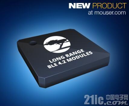 Cypress EZ-BLE PRoC XR模块在贸泽开售  实现蓝牙无线通信范围新突破