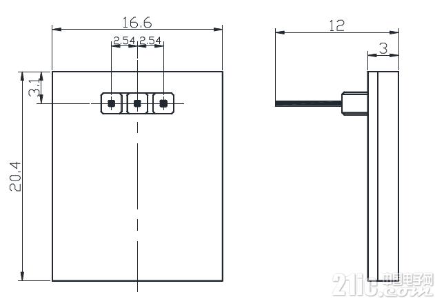 仅售一美元的HTTM背光电容触摸开关,为你的设计加分
