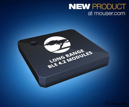 Cypress EZ-BLE PRoC XR模块在贸泽开售,实现蓝牙无线通信范围新突破
