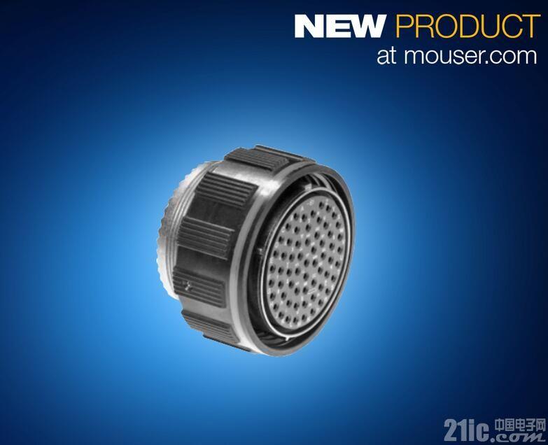 贸泽供货Amphenol ZnNi 圆形军工规格金属连接器登陆贸泽