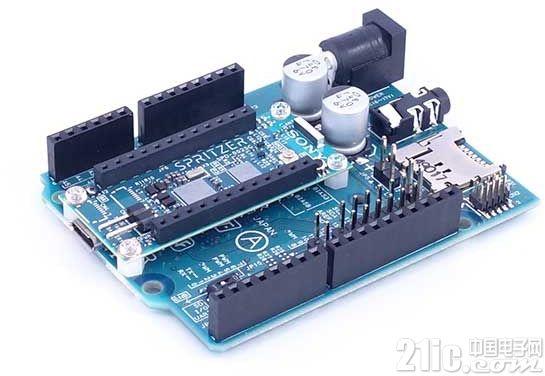Sony推出Arduino兼容开发板Spritzer,M4架构内建GPS和音频编解码