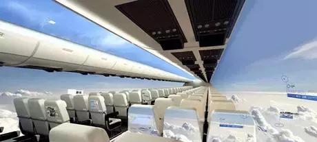 全球首架全透明飞机预计2050年上天!那么问题来了,你敢坐吗?