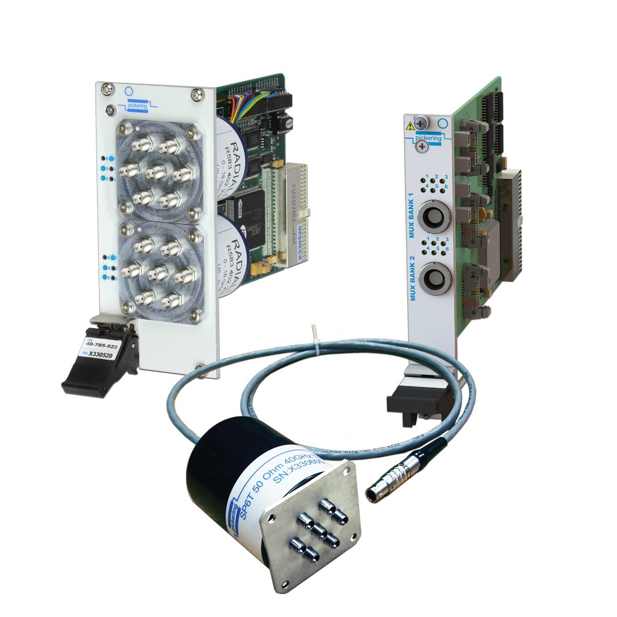 Pickering Interfaces扩展了PXI微波多路复用器产品种类