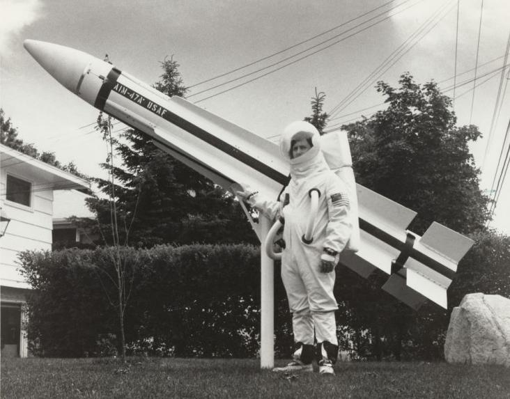 世界上第一个将火箭发射到太空的平民老百姓