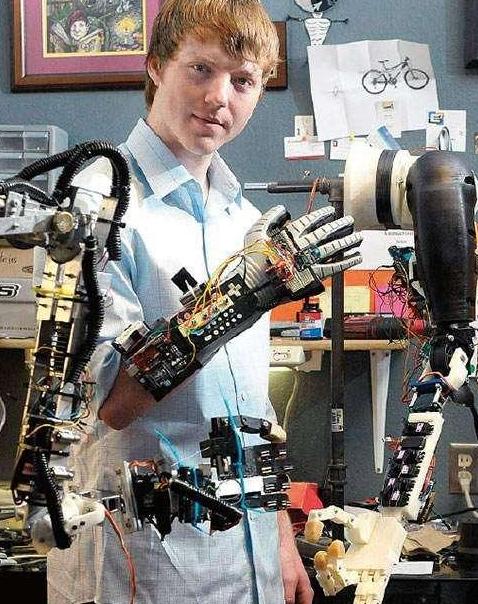 19岁被美国总统接见的科技鬼才发明家