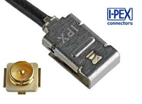 I-PEX爱沛电子发布行业中领先的内置锁扣功能的新款射频连接器