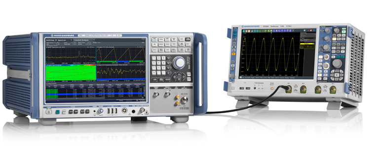 罗德与施瓦茨公司业界首发具有指标保证的5GHz带宽信号分析功能