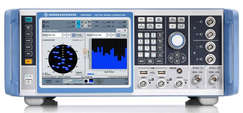 罗德与施瓦茨公司推出全新高端GNSS模拟器,高度还原现实测试场景