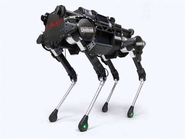 对飙波士顿动力!中国四足机器人技术正努力追赶