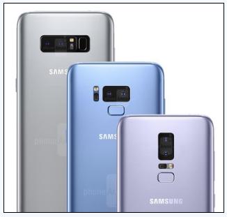 三星Galaxy S9全新起航:19.5:9全面屏、背部中央指纹