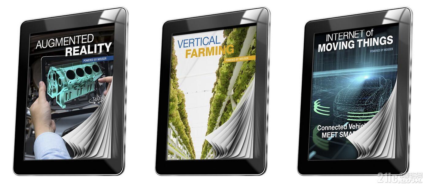 贸泽发布介绍创新技术的电子书